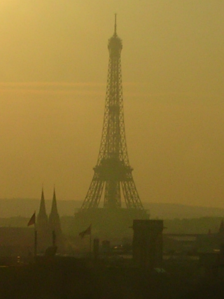 Tour Eiffel in the Morning by Federico Szarfer